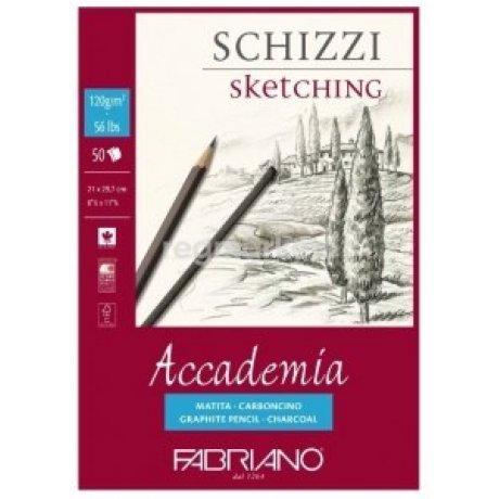 Бумага для графики Accademia А4 (21х29,7 см) 120 г / м.кв. 200 л.