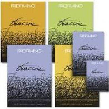 Блокнот для эскизов Traccia А5 (14,8х21 см) 60 г / м кв. 120 листов склейка Fabriano Италия