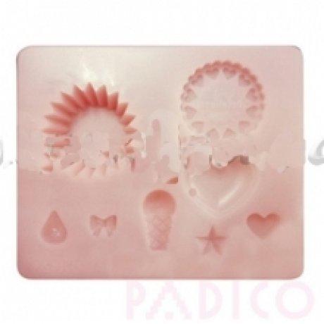 Прес-форма «Детские сладости» 75*90 мм, полиуретан, Padico