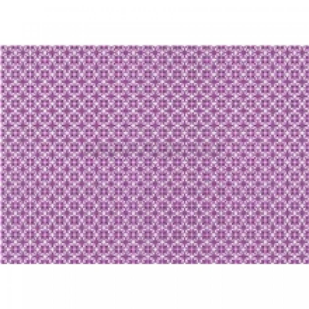 Бумага для декупажа, интерьерная, Фиолетовый узор, 50*70см, 99053