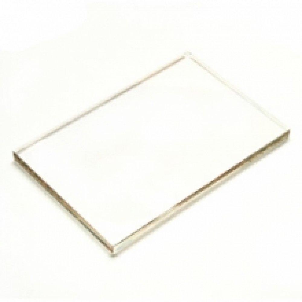 Блок стеклянный  для штампов,  5х10 см
