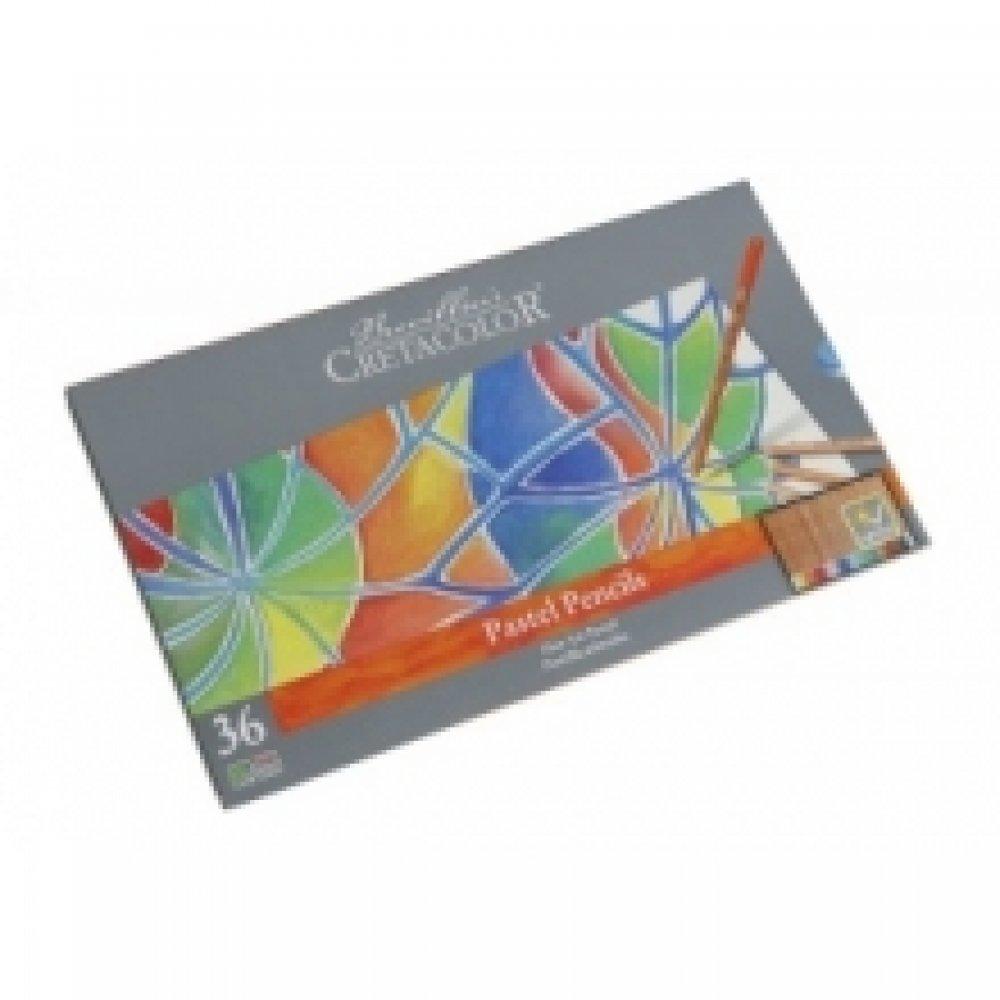 Набір пастельних олівців, Fine Art Pastel, 36шт., Мет. упаковка, Cretacolor