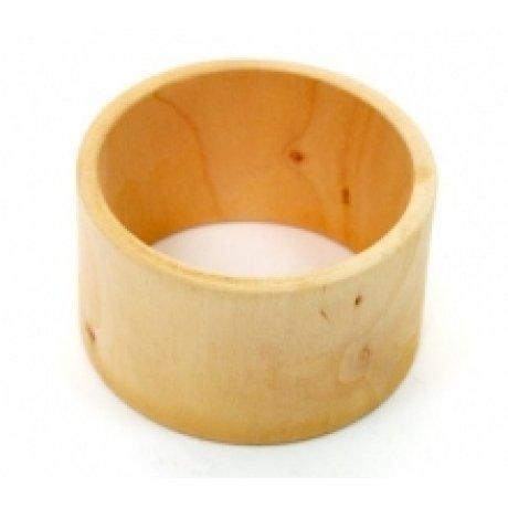 Браслет деревянный плоский, 65*85мм, ширина 25 мм