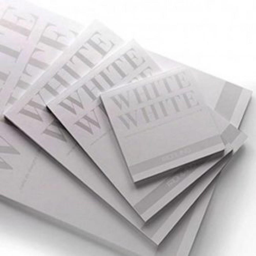 Альбом для эскизов White White 20х30 см 300 г / м.кв. 20 листов белой бумаги склейка Fabriano Италия