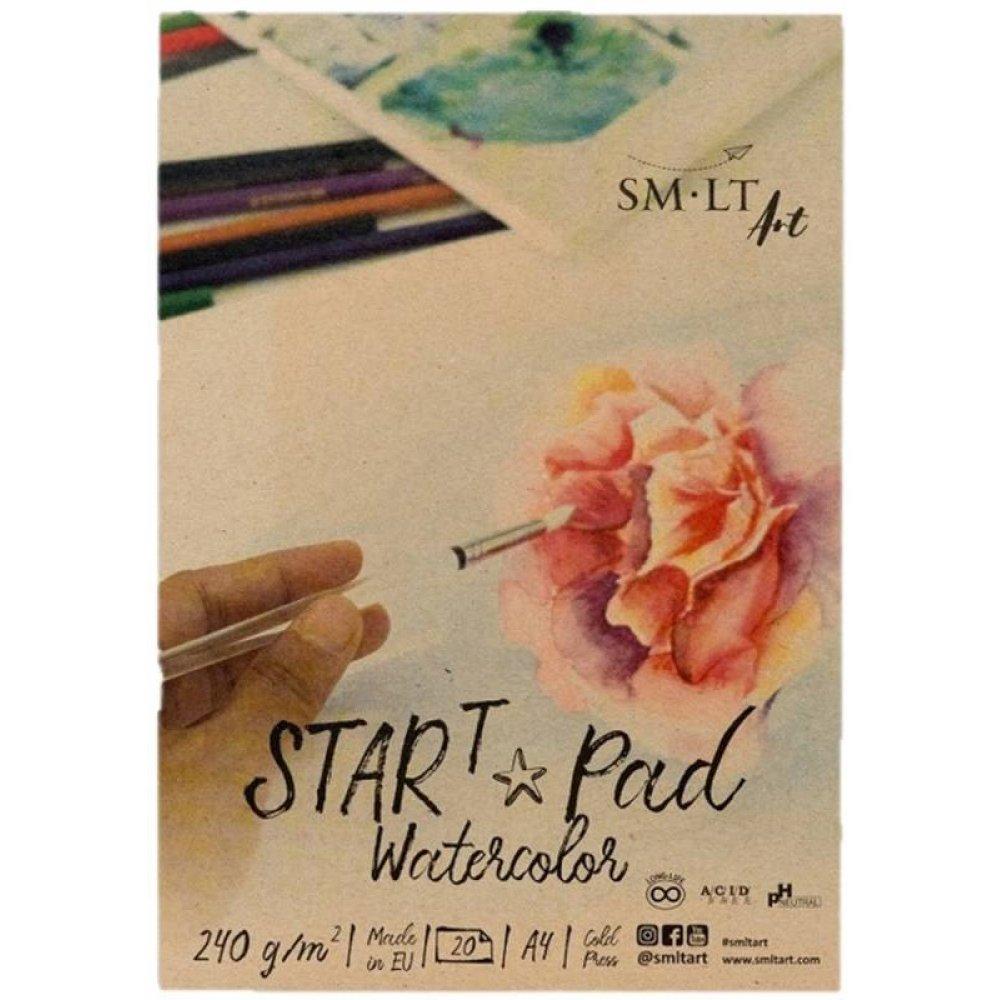 Набір дизайнерського паперу, Рожевий, матовий, 20 шт, А4 (21х29,7 см), 100-220г/м2, Heyda