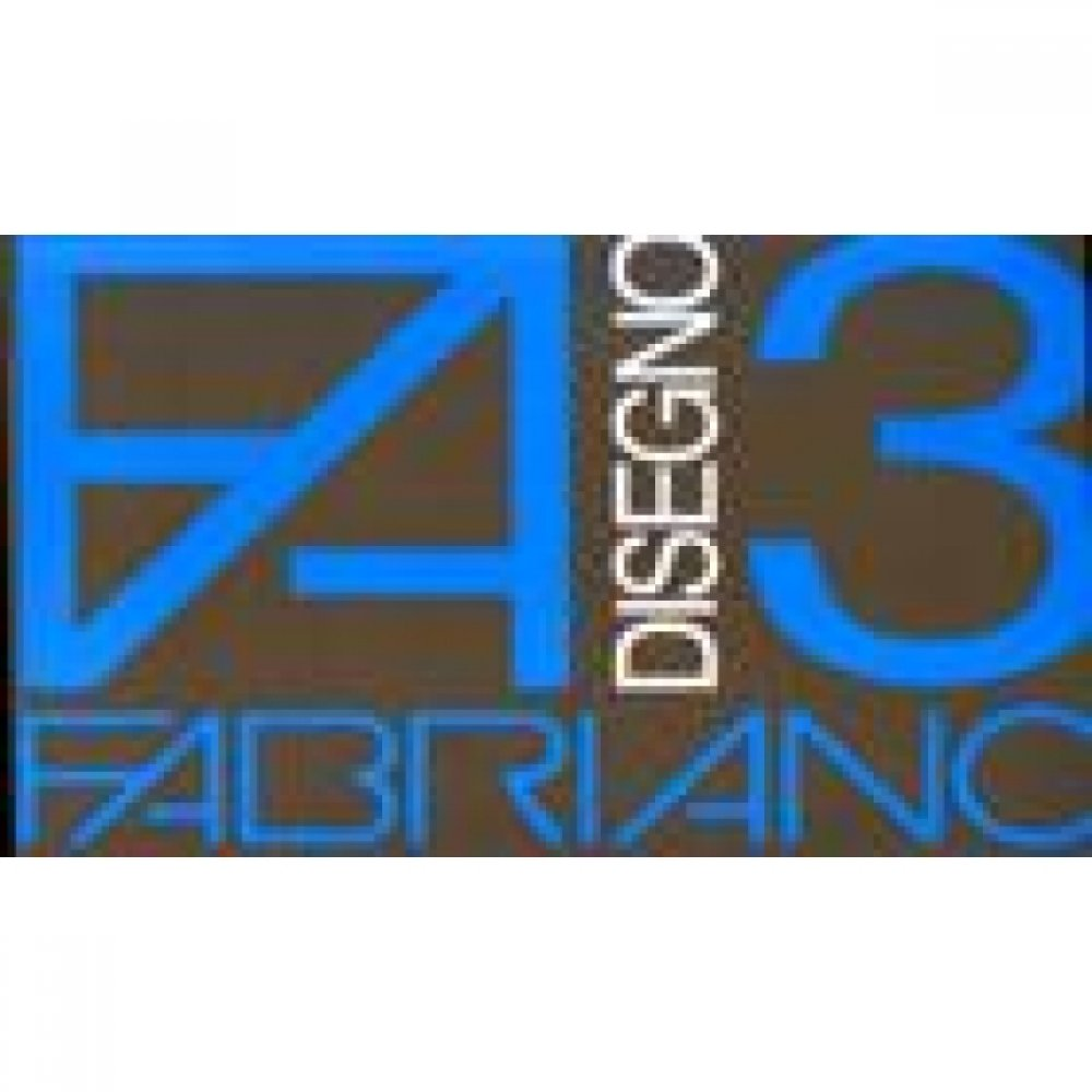 Альбом для пастели Disegno 3 nero 24х33 см 125 г / м.кв. 10 листов Fabriano