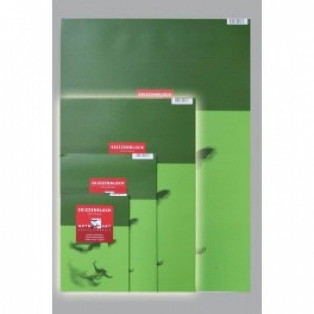 Альбом для маркеров A5 14,8x21cm, 50ар. 190г / м2, зеленый