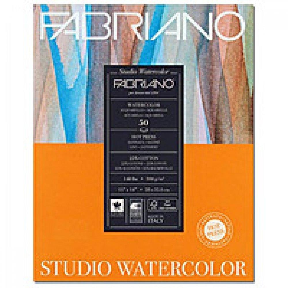 Альбом для акварели Studio 22,9х30,5 см 300 г / м.кв. 12 лист
