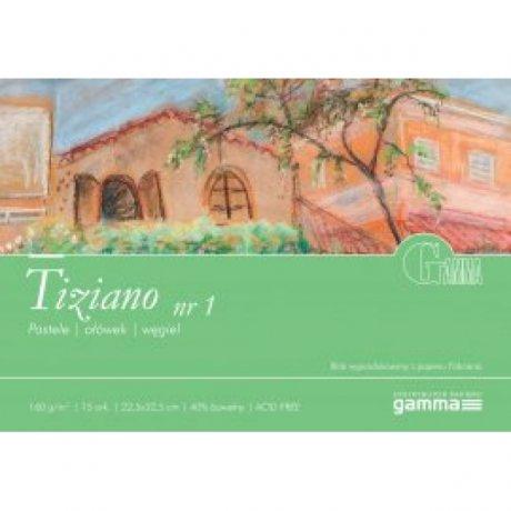 Альбом для пастели GAMMA Tiziano 22,5 x 32,5 160г / м 15лист MIX10 (проклейка 1бок)