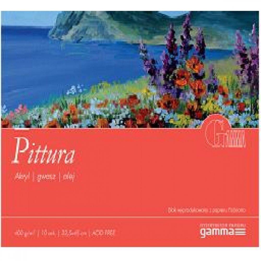 Aльбом для акрила GAMMA Pittura 400г / м 10л 12,5 x 18