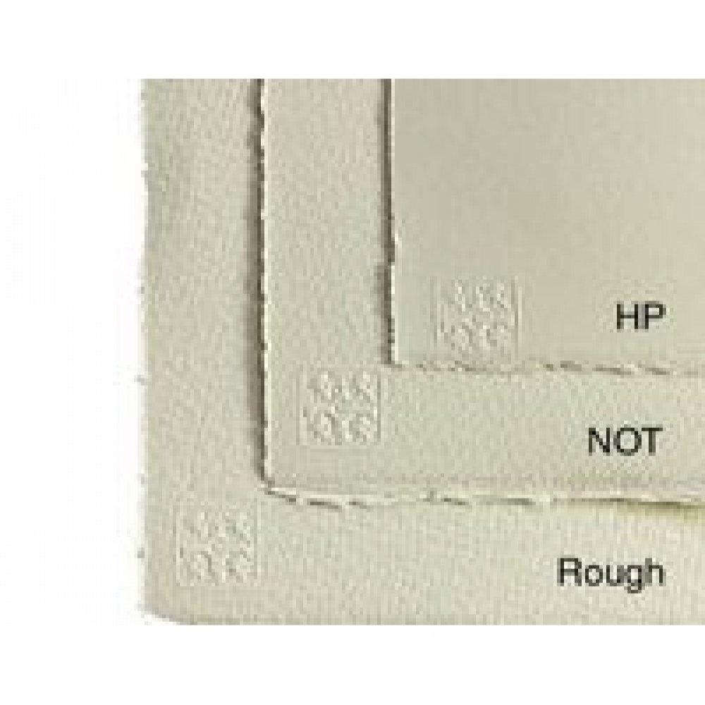 Бумага акварельная Waterford HIGH WHITE ROUGHT B2 (56 * 76см), 190г / м2, мелкое зерно, снежно белый, St.Cut