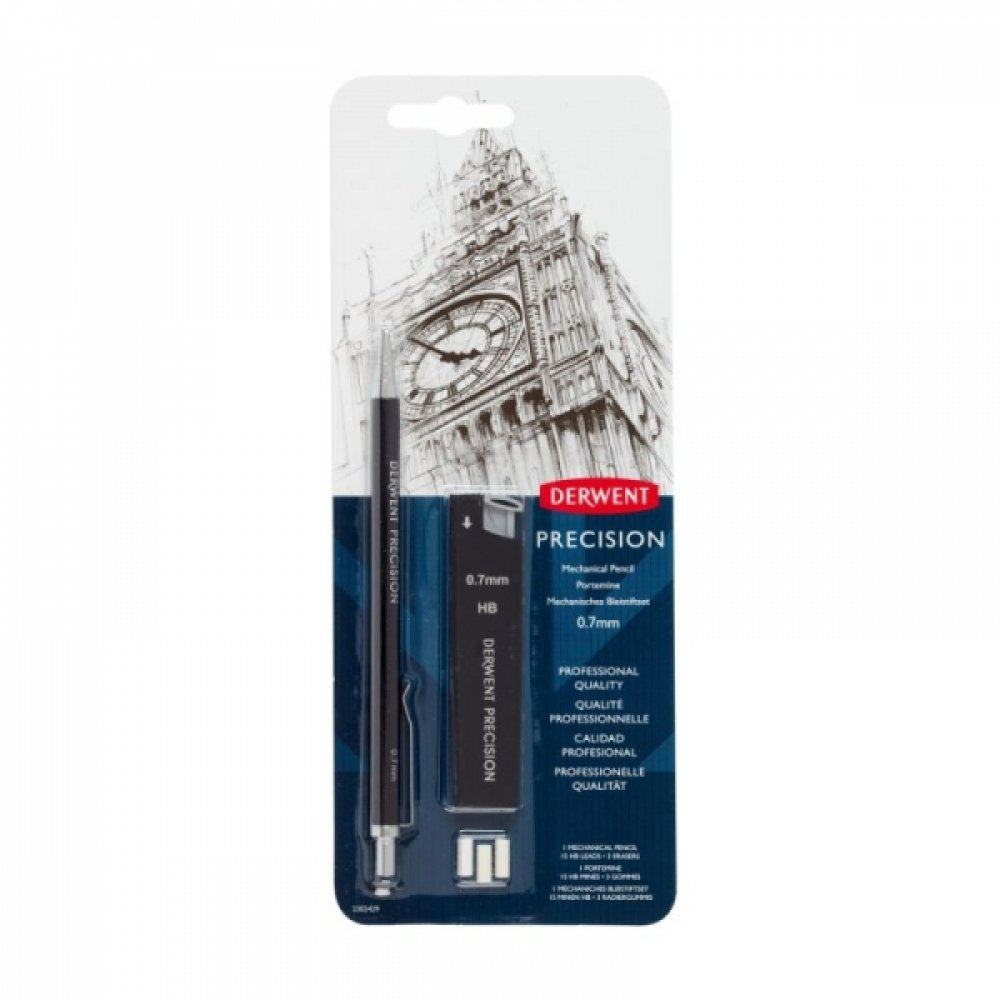 Механічний олівець НВ 0,7мм, Derwent