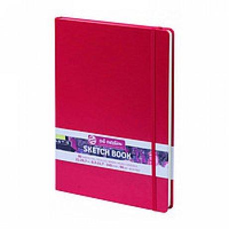 Блокнот для графіки Talens Art Creation 140г/м, 9х14см, 80л, червоний, Royal Talens