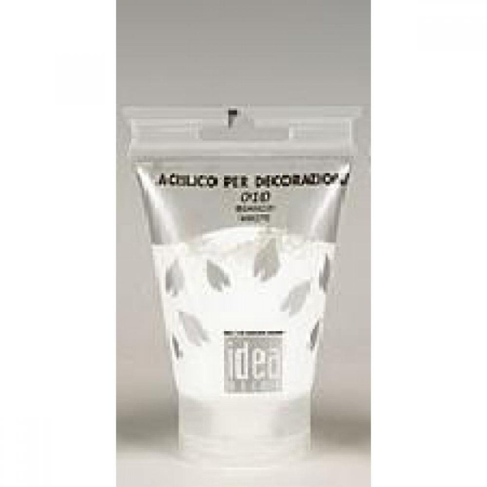 Акрилова фарба Idea Decor 110 мл 010 білий Maimeri Італія